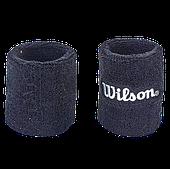 Напульсник махровый WILS (1шт.) хлопок, PL, безразмерный, черный/синий/серый