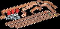 Комплект силовых шин (медь, габ.2) к ПР