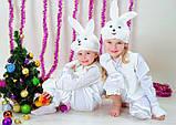 Детский новогодний костюм зайчика, фото 2