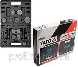 Набор для обслуживания тормозных цилиндров 18 ед Yato YT-0682