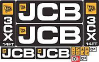 Комплект наклеек JCB 3CX