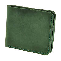 Чоловічий гаманець 4.1 (4 кишені) Смарагд, фото 1