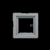 Вікно поворотно-відкидне, 600х600, 5-камерний профіль.
