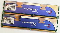 Комплект оперативной памяти Kingston HyperX DDR2 4Gb (2Gb+2Gb) 1066MHz PC2 8500U CL5 (KHX8500AD2K2/4G) Б/У, фото 1