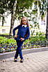 Костюм школьный для девочки франц трикотаж 128,134,140,146, фото 3