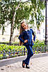 Костюм школьный для девочки франц трикотаж 128,134,140,146, фото 4