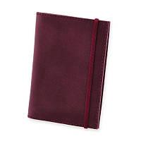Обложка для паспорта 1.0 Виноград (кожа) + блокнотик, фото 1