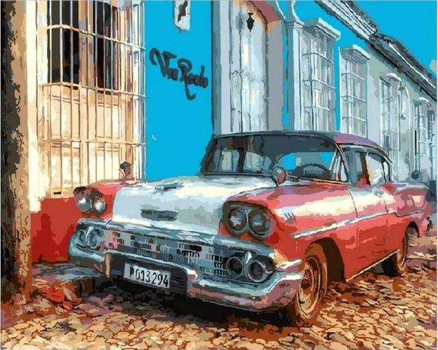 Картина по номерам Виа Реале Куба , 40x50 см., Mariposa