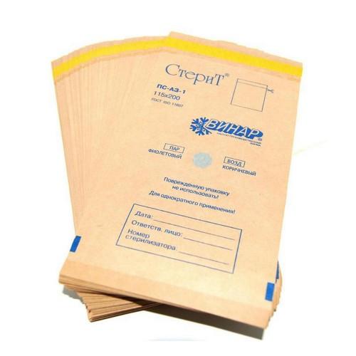 Крафт-пакеты 75/150 коричневые YRE