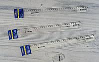 Линейка Пластиковая 30 см №5826-30 прозрачная Buromax Украина