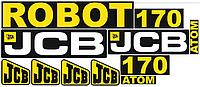 Комплект наклеек JCB 170 Atom