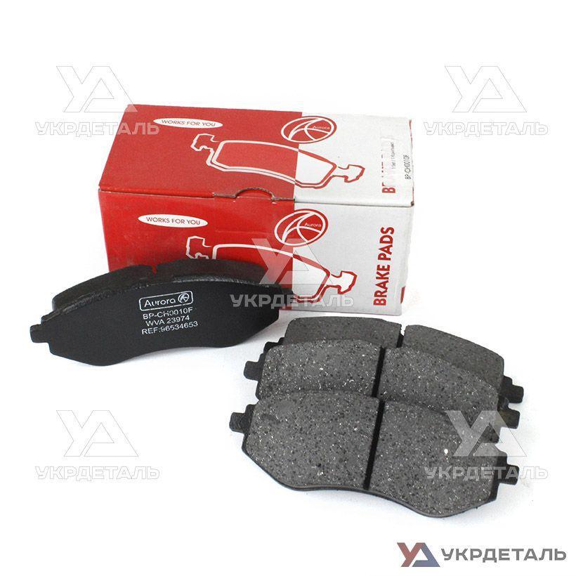 Тормозные колодки передние Шевроле Авео 1,5 8V / Chevrolet Aveo | AURORA (Польша)