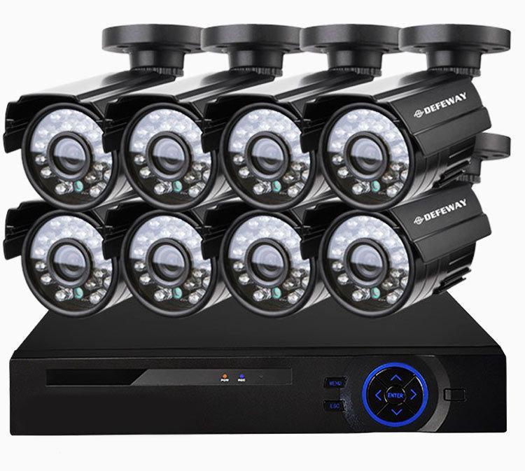 Системы видеонаблюдения | Комплект видеонаблюдения на 8 камер DVR KIT CAD 8008 Wi-Fi 8ch