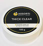 Гель для наращивания ногтей  Thick Clear, 100 g, фото 2