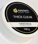 Гель для наращивания ногтей  Thick Clear, 100 g, фото 3