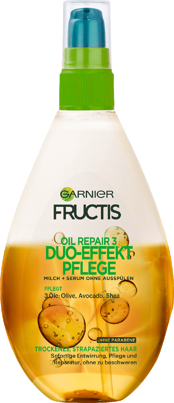 Восстанавливающее масло для волос GARNIER Fructis Pflegespray Oil Repair 3, 150 мл.