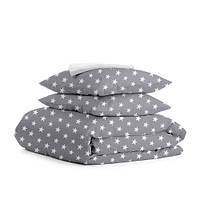 Комплект постельного белья евро STARS BIG GREY