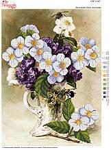 Вышивка бисером Весняний букет жасміну №165
