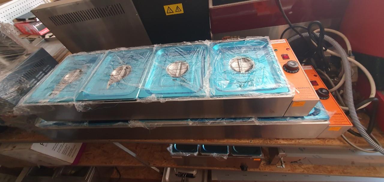 Аппарат для подогрева готовых блюд (мармит) GoodFood BM4G витрина