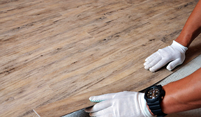 Кварц-виниловая плитка LG Decotile