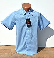 Рубашка шведка на мальчика. Короткий рукав. 6-13 лет нарядная, фото 1