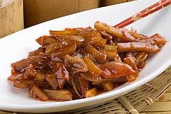 Тушеный картофель с мясом по-китайски и Терияки соусом