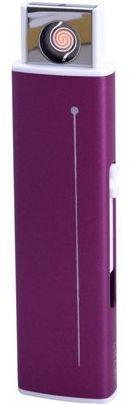 Зажигалка Champ Slide Double Coil USB Igniter  40400314 пластик малиновый