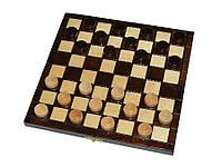 Деревянные шашки 25х25 см