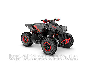 Renegade X XC 1000R Black & Can-Am Red