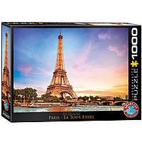 """Пазл """"Париж. Ейфелева вежа"""" 1000 елементів EuroGraphics (6000-0765), фото 1"""