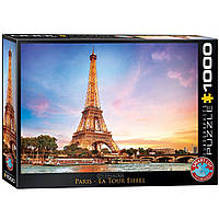 "Пазл ""Париж. Эйфелевая башня"" 1000 элементов EuroGraphics (6000-0765), фото 1"