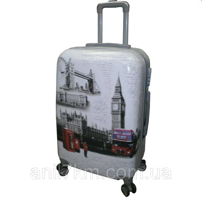 Большой  ударопрочный чемодан LONDON