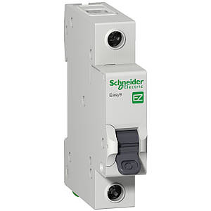 Автоматический выключатель EZ9F34125 Easy9 Schneider 1P, 25A, тип «С»