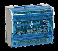Шины на DIN-рейку в корпусе (кросс-модуль) ШНК 4х11 3L+PEN ИЭК