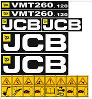 Комплект наклеек JCB VMT 260.120