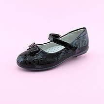 Туфли лаковые с бантиком на девочку тм BI&KI размер 27,28,29,30,31,32, фото 2