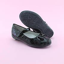Туфли лаковые с бантиком на девочку тм BI&KI размер 27,28,29,30,31,32, фото 3