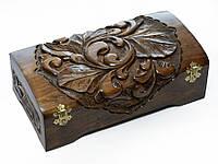 Декоративная резная шкатулка 03, фото 1
