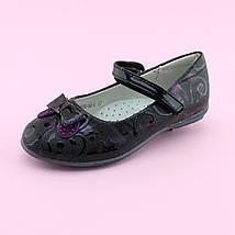 Туфли для девочки Фиолетовые тм BI&KI размер 27,28,29,30,32, фото 3
