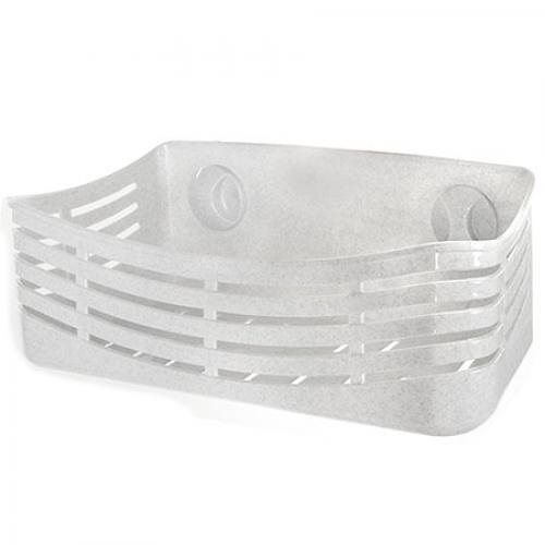 Полка в ванную R21124 на присоске, пластик, 32.5*13.5 см, полки, полка в ванную, аксессуар.