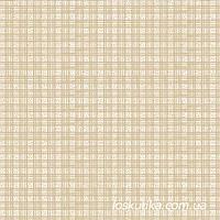 52016 Клеточка (бежевый). Ткань с мелким фоновым рисунком. Хобби ткани для творчества.