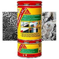 Епоксидний клей Sikadur-31 CF для каменю,  мармуру та металу. 1.2 кг.