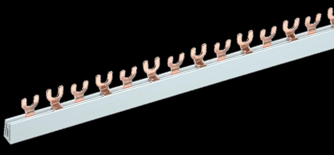 Шина соединительная типа FORK (вилка) 2Р 63А (дл.1 м) ИЭК
