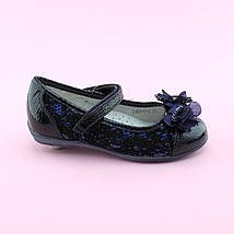 Туфли синие девочке в школу тм BI&KI размер 27, фото 3
