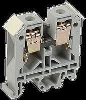 Зажим наборный ЗНИ-6мм2 (JXB50А) серый ИЭК