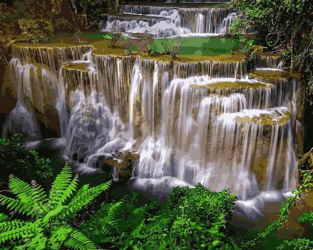 Картина по номерам Национальный парк Эраван, 40x50 см., Babylon