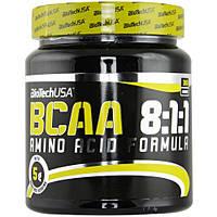 BCAA аминокислоты BioTech BCAA 8:1:1 (300 г) без вкуса!