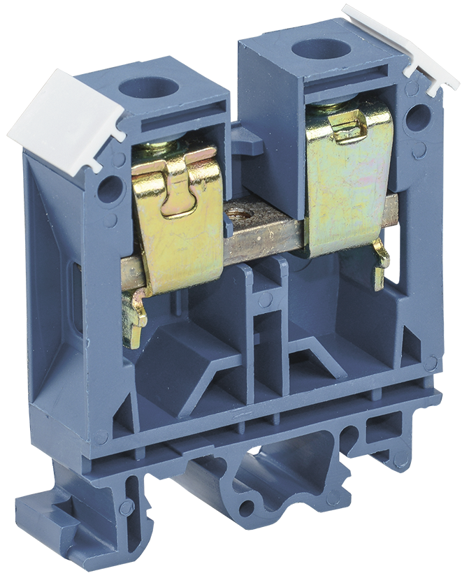 Зажим наборный ЗНИ-35мм2 (JXB125А) синий ИЭК