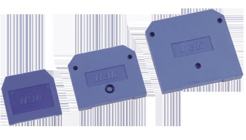 Заглушка для ЗНИ-16мм2 (JXB100A) синий ИЭК