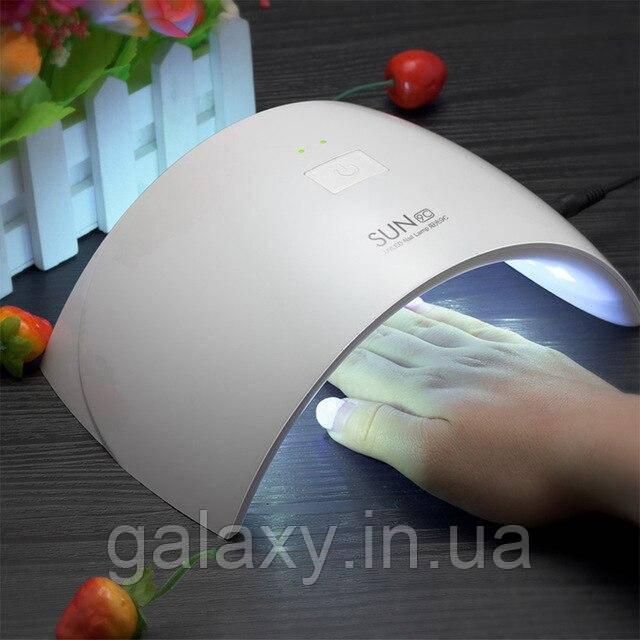 УФ Лампа для нігтів UV LED для сушіння гель лаку будинку SUN 9C 24W